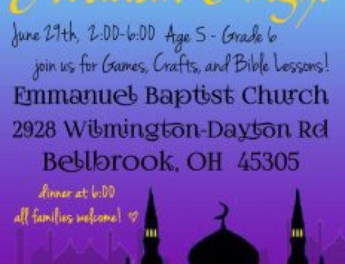 2019-06 Vacation Bible School